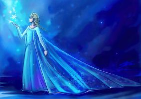 Frozen - Elsa by stryler