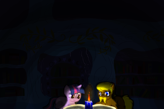 Candle Light Dinner For The Bookworms by MyLittleCreations