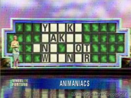 Wheel of Fortune-Animaniacs by JDE10