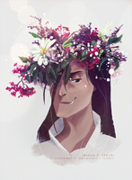Flower Crown Melkor by sycamoreleaf