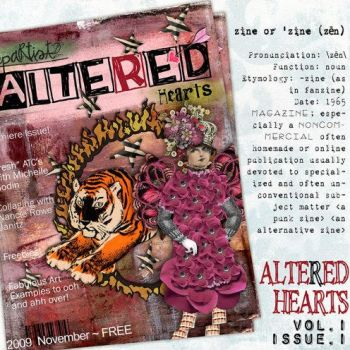 Altered Art Zine by lilo70