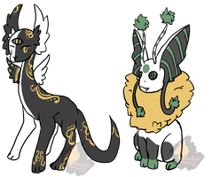 Set price creatures -Open by Shadow-Wolf-Adopts