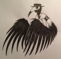 Plague Doctor by TheGhoulAvenue
