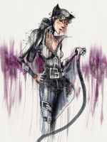 Selina Kyle - dribbly by natty81