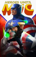 Guile X Captain America 2.0 by geeshin