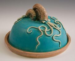 Ammonite Butter Dish by Frost-indri