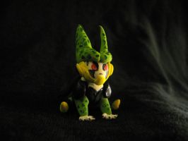 CHIBI Clay Perfect Cell by CybrBanana