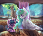 MLP : that other time i came.... by AquaGalaxy