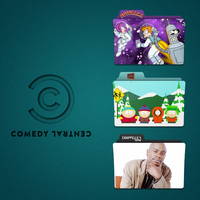 Comedy Central Folder Icon Pack by Kliesen