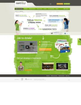 Mamfirme.pl - Homepage Promo by neatgroup