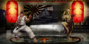 Street Fighter by bud-dtuhami