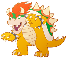 Bowser by wingedwolf94
