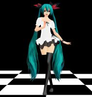 World Is Mine Miku MMD download by Reon046