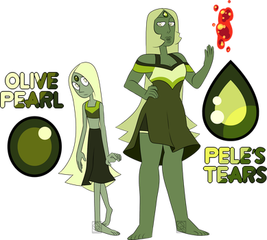 Pele's Tears and Pearl by XombieJunky