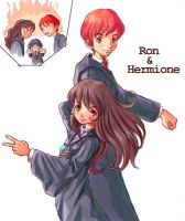 Ron X Hermione APRIL FOOLS by Its-So-Obvious