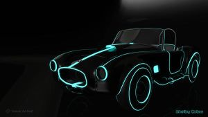 Tronic Shelby Cobra by Art-feed