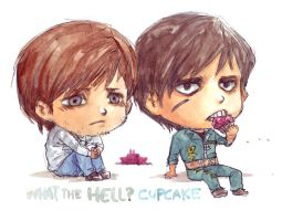 What the hell Cupcake by ravefirell