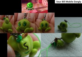 Sourbill Mobile Charm by TheCreatorsEye