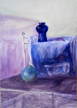 Still Life 3 - acrylic painting by Jakly