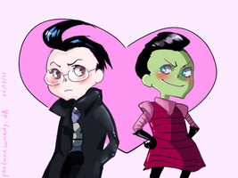 Dib and Zim 4ever. by TheProfaneComedy