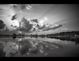 spencer lake black and white by BillyRWebb