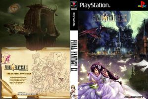 Final fantasy IX - Cover ps2 by Sevenknot77