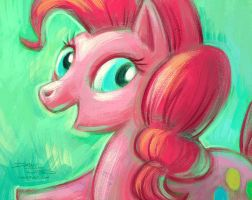 Pinkie Pie by danidraws