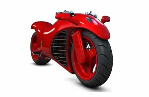 Ferrari V4 Superbike Concept by TheCarloos