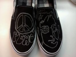 Shoe art ftw by Moonlightcat2