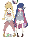 Panty And Stocking Render 4 by KataSangoHaruhi
