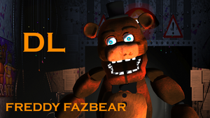 [MMD] Five nights at freddys 2  OLD FREDDY DL OPEN by XHaloMMDArtX