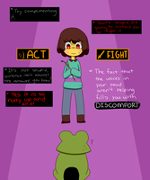 [Undertale] Chisk by ArtisticAnimal101