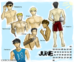 PJO Boys - June by Sorcaron