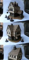 Miniature Terrain - Traditional Inn 1 by Bjerg