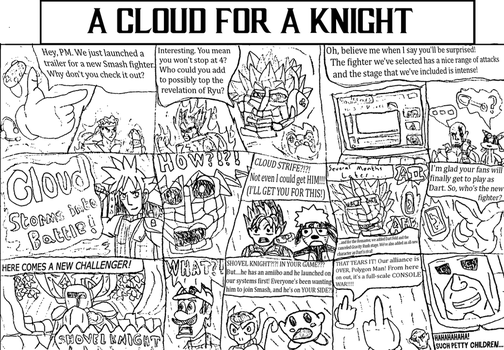 A Cloud for a Knight by LeeHatake93