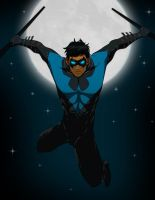 Nightwing: Blue version by michael0118
