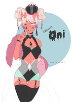 oni queen by 6arnaboo