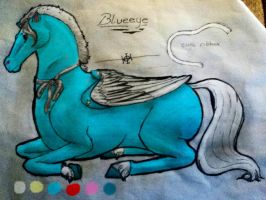 Blueeye Reference Sheet 2013 by TheDragonInTheCenter