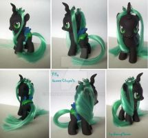 My little Pony Filly Queen Chrysalis Custom by BerryMouse