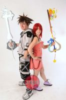 Sora and Kairi Cosplay by SerenityPhoenix