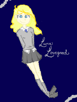 Luna Lovegood by Maplesong44