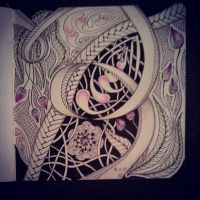 My Zendoodle 365-project, day56 by Nadik