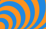 Concentric - Orange and Blue by ts2master