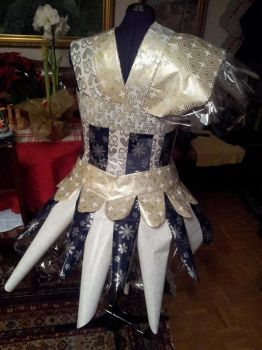 Project Sewing Mannequin gift-wrapping part 5 by Psycho-Panda