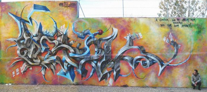 monster letters by Odeith