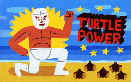 Turtle Power! by Teagle