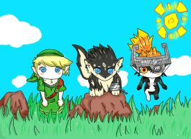 The Legend of Zelda TP: What shall we do now? by sugarskeleton