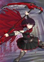 Ruby Rose by ADSouto