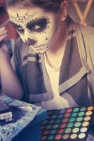 Making Skull by SelyaMakeup