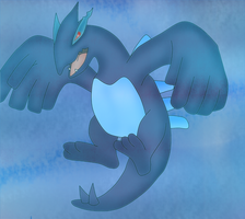 Shadow lugia by Wolfeenix